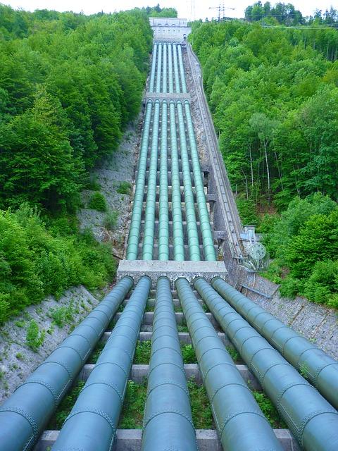 monitoring trasovanie potrubia